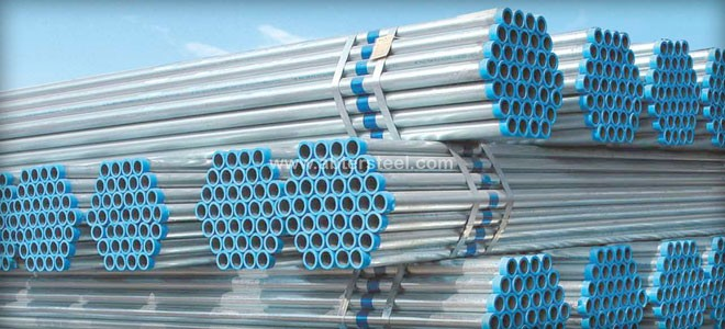 galvanized steel pipeline