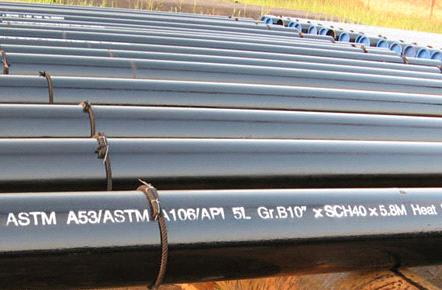 astm a53 GrB steel pipes