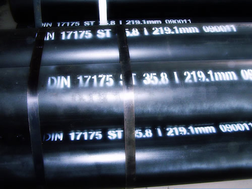 din17175 seamless steel pipes