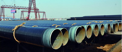 3pe coated steel pipe