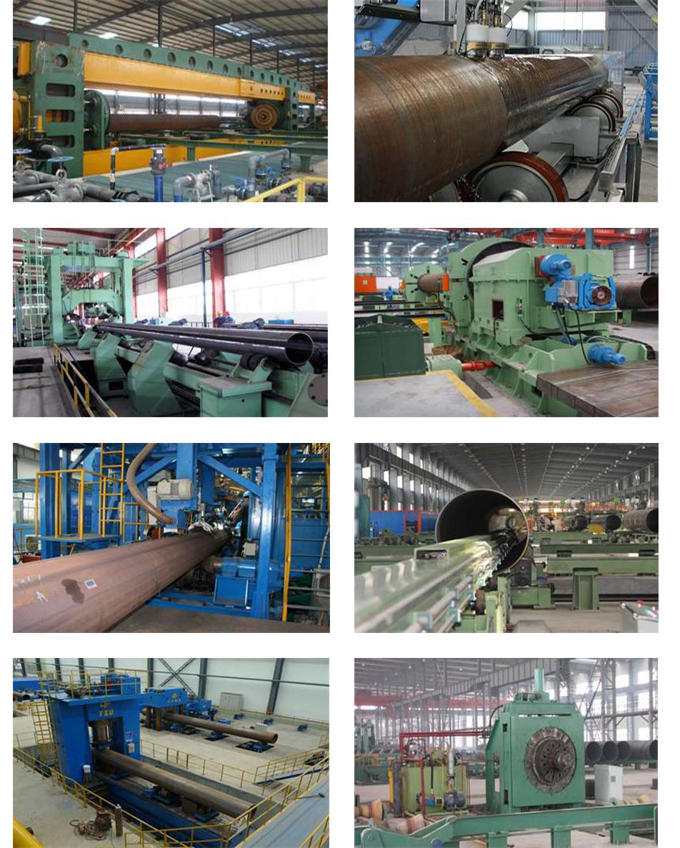LSAW steel pipe production equipment