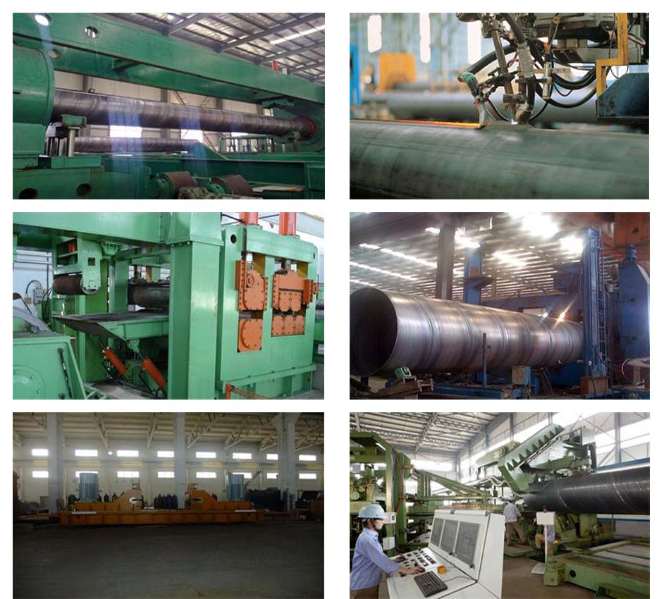 SSAW steel pipe production equipment