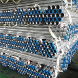 ASTM A53 Gr. B Gpe Sch10 Carbon Threaded Galvanized Steel Pipe with Screwed and Socketed End