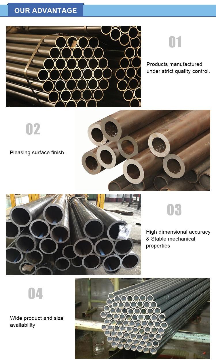 de alta precisión tubo de acero estirado en frío de tubos sin costura para el motor diesel