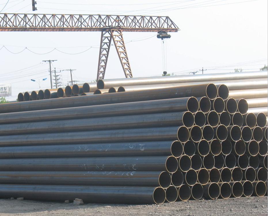 ASTM SAWL API ERW X52 کم کربن فولاد ضد زنگ لوله های بدون درز برای گاز خشکی و خط لوله نفت