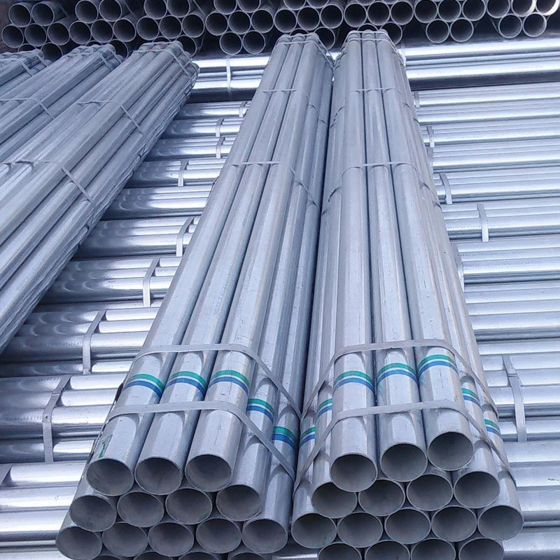 Galvanized steel pipe specification, size theoretical weight